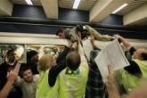 100 Protesters Condemn Shooting of Man at San Francisco BART Station Image 1  Image 2  Image 3  Image 4