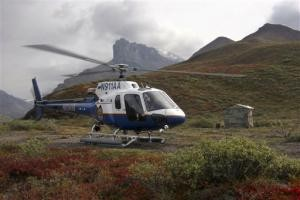 3 Feared Dead as Alaska Troopers Copter Crashes
