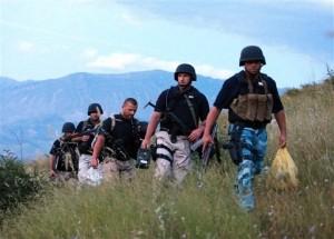 Albanian Police Battle Heavily Armed Marijuana Growers