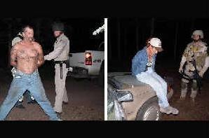 Arizona Fugitive And Fiancee Arrested At Campsite