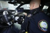 Arkansas Police Photograph License Plates
