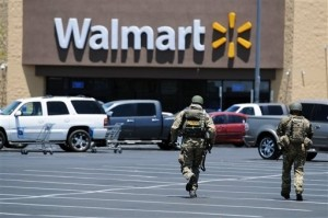 Armed Man Confronted Vegas Shooters inside Wal-Mart