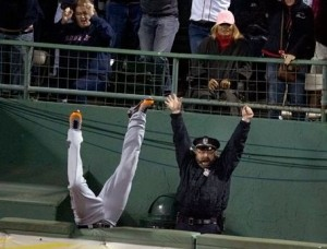Boston Officer Humbled by Grand Slam Attention