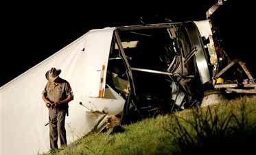 Charter Bus Crash North Of Dallas Kills 13