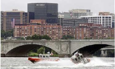 Coast Guard Drill Suprises Washington, D.C.