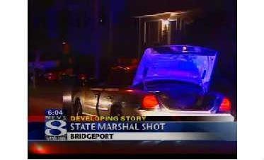 Conn. Marshal Shot Serving Warrant