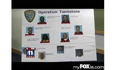 Criminals Busted in Operation Tombstone