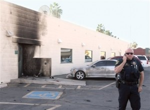 Explosion at Arizona Social Security Office