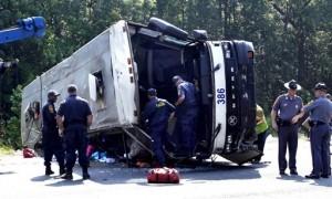 Federal Regulators Shut Down East Coast Bus Service after Virginia Crash Kills Four