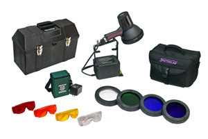 Forensic Light Source Kits Offer Searchlight Power!