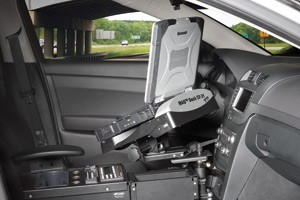 Gamber-Johnson Introduces New Chevrolet Caprice Police Patrol Vehicle Solution