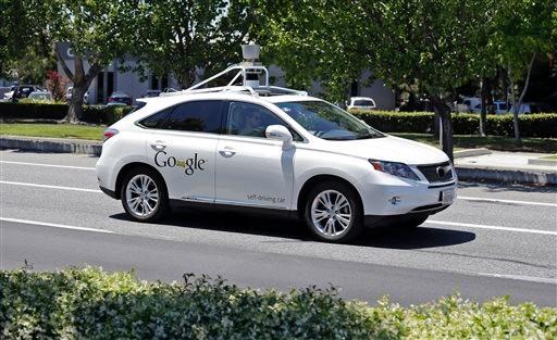 Google Confirms Self-Driving Car Accidents