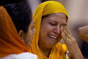 Hundreds Gather for Sikh Temple Shooting Memorial