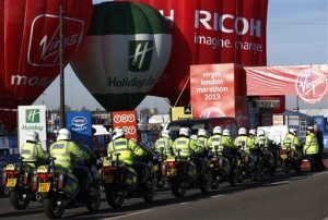 Increased Security at London Marathon