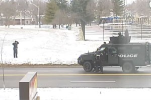 Indy Police Officer Surrenders after Standoff with Fellow Officers