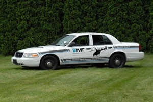 Intergrated Microwave Tech. Introduces Video Downlink-Equipped Squad Car at Police Security Expo 2011