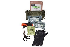 Law Enforcement Trauma Kit with Combat Gauze Available from OfficerStore.com