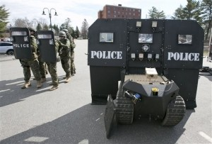 Maine Company Develops 'SWAT Robots' to Protect First Responders