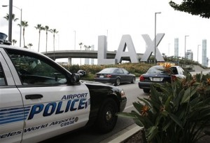 Man Arrested at Los Angeles Airport with Suitcase Full of Weapons