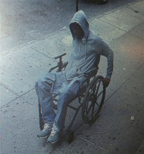 Man in Wheelchair Robs NY Bank, Makes Getaway