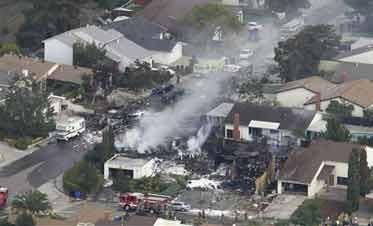 Military Jet Crash in San Diego Kills 3; 1 Missing