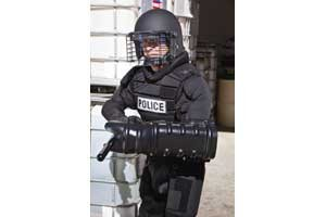 Monadnock Impactor Fighting Shield Provides Non-Ballistic Protection for the Forearm