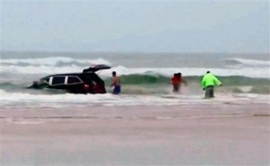 Mother in Florida Surf Rescue Was Stopped Earlier by Police