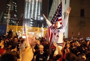 Nation Rejoices after News of Death of Osama bin Laden