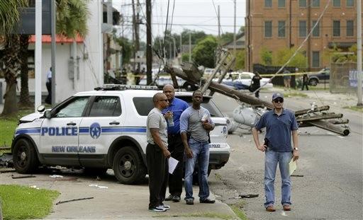 New Orleans Police Officer Killed During Transport