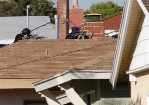 Officer Shot, Another Wounded in Shootout in Los Angeles