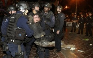 """Over 200 """"Occupy Wall Street"""" Protesters Arrested in Los Angeles"""