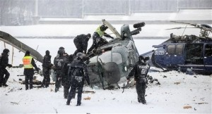 Police Helicopters Collide Over Germany