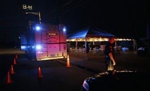 Police Patrolling Devastated Tuscaloosa Under Curfew