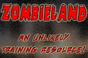 Police Training in a Zombie Flick?