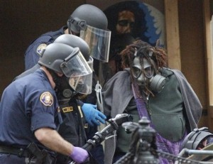 Portland Police Arrest Over 50 Anti-Wall Street Protestors