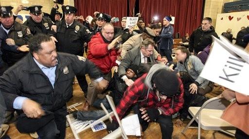 Protestors Disrupt Philadelphia Police - Law Officer