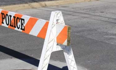 Roadblock Ahead: Literally.