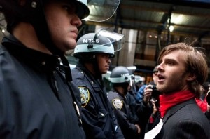 Several Arrests during NYC Occupy Wall Street Protest
