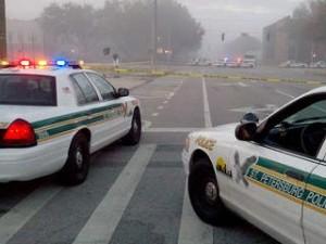 Slain St. Petersburg Officer Identified, Massive Manhunt Underway for Killer