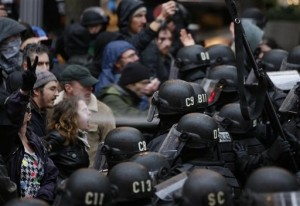 Suit: Portland Police Used Excessive Force in Occupy March