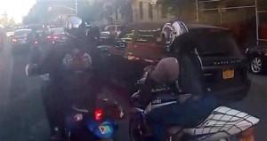 Suspect Arraigned in NYC Biker, SUV Brawl