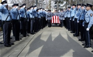 Thousands Mourn Lakewood Officer Who Was Shot to Death