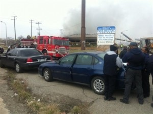 Two Bodies Found in Detroit Office Building Fire