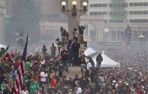 Two Shot at Massive Colorado Marijuana Celebration