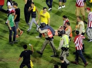 Vegas Police Quell Soccer Brawls