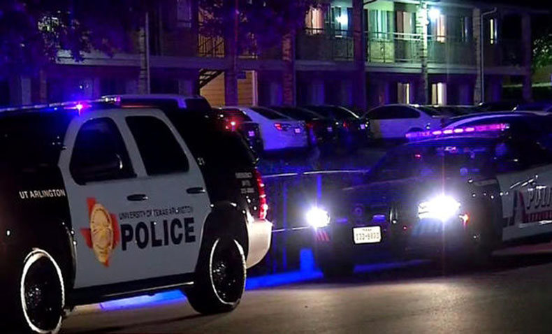 Texas Officer Shot Arresting Murder Suspect