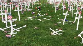 Arrest Made In Memorial Cross Vandalism