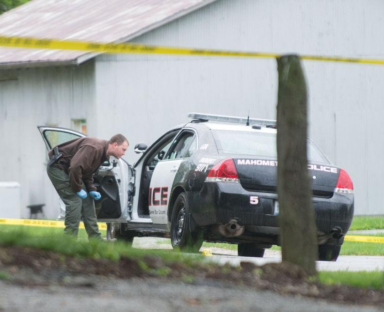 Woman Dies In Police Car Collision As Police Hunt Gunman