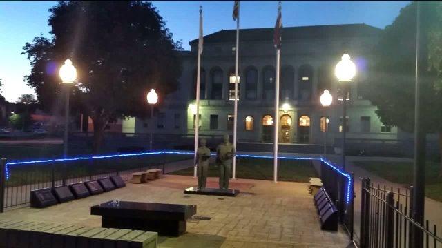 LED Lights Stolen From St. Joseph Law Enforcement Memorial
