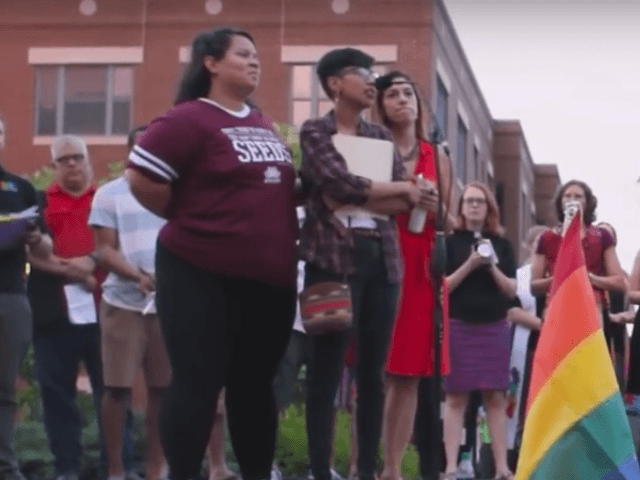 Black Lives Matter Activist Disrupts Orlando Victim Vigil